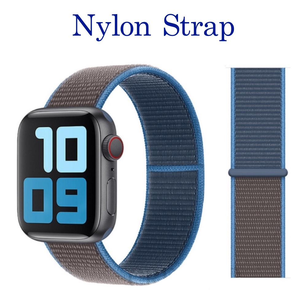 Nylon Strap, Soft Blue